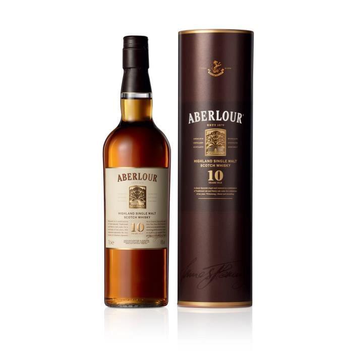 WHISKY BOURBON SCOTCH Whisky aberlour 10 ans (70cl)