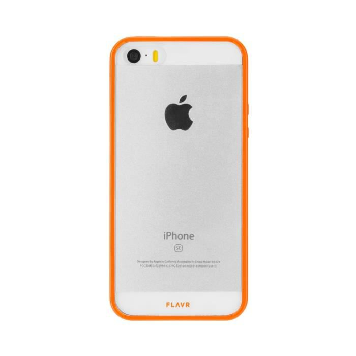 FLAVR Coque Odet - Iphone 5 / 5s / SE - Orange transparent