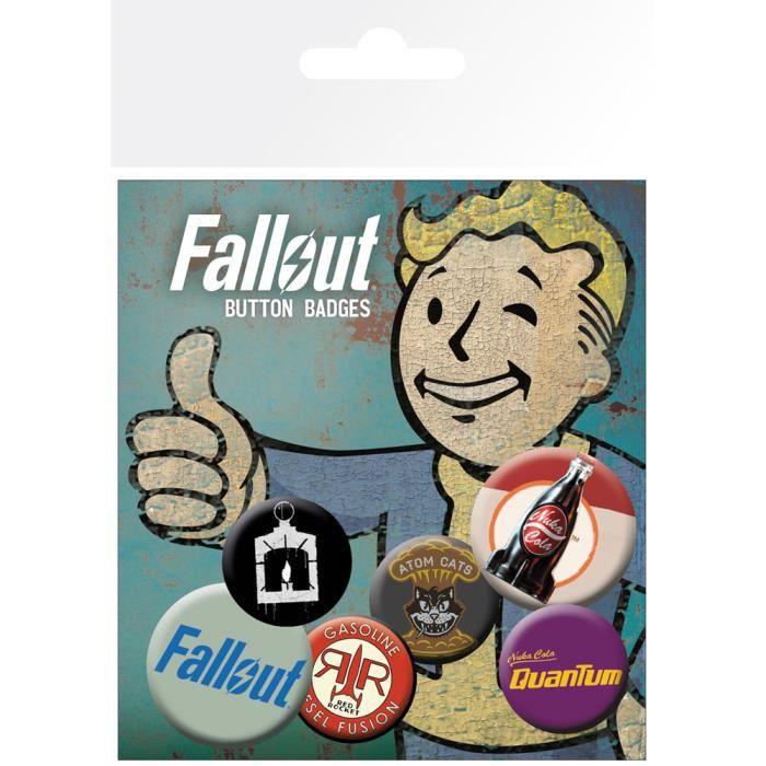 BADGES - PIN'S Set de badges Fallout 4 Mix 2