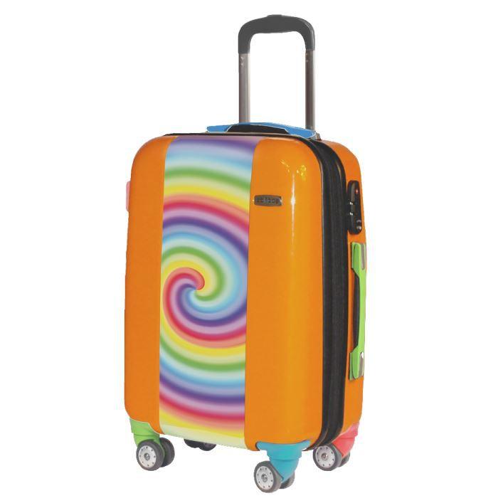 valise colorless valise cabine originale orange achat vente valise bagage 2009992369445. Black Bedroom Furniture Sets. Home Design Ideas