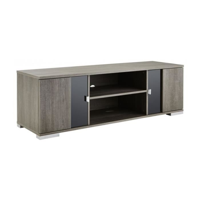 Meuble tv vitre achat vente meuble tv vitre pas cher - Meuble prix discount ...