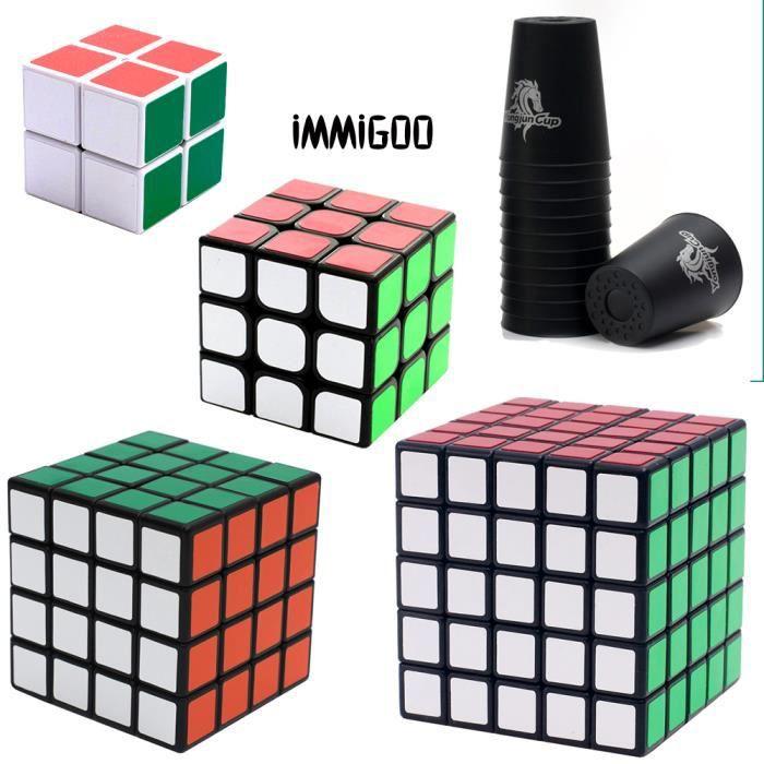 rubiks cube lot achat vente jeux et jouets pas chers. Black Bedroom Furniture Sets. Home Design Ideas