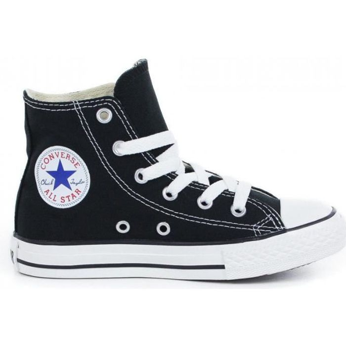converse toile noire