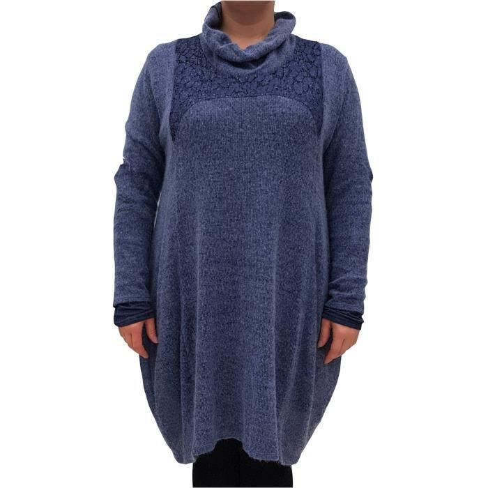 Womens Plus Size Dress Jumper Dre Quirky Embellished 2FKD0N Taille-48