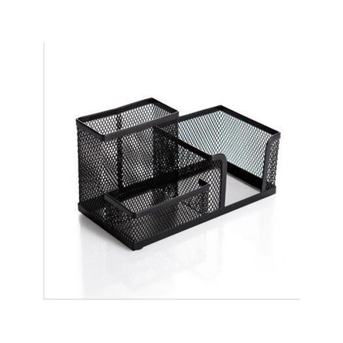 boite de rangement bureau noir achat vente pas cher. Black Bedroom Furniture Sets. Home Design Ideas
