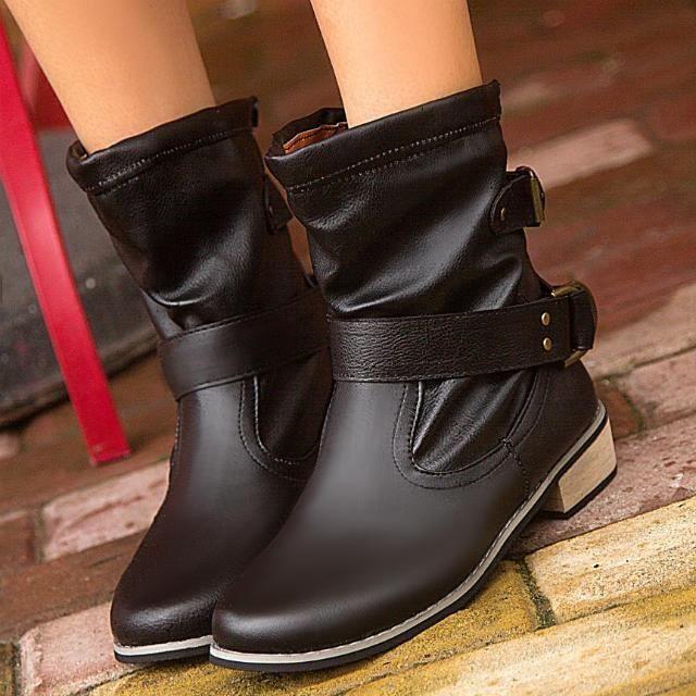 Classique Femmes & # 39; s Chaussures d'hiver pour les dames sexy chaud cheville fourrure Boucle bottes bottes beau,marron,39