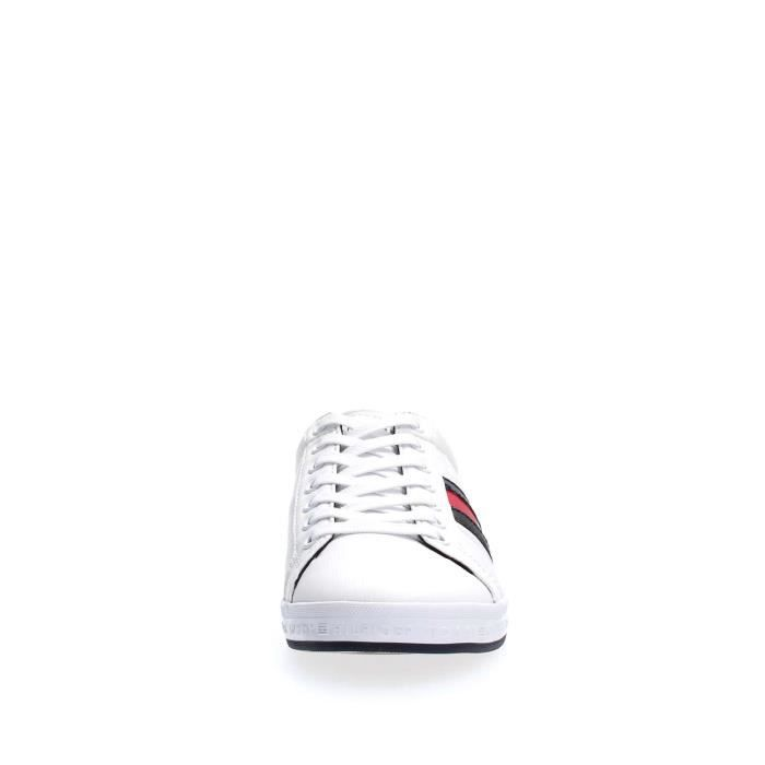 TOMMY HILFIGER SNEAKERS Homme WHITE, 42