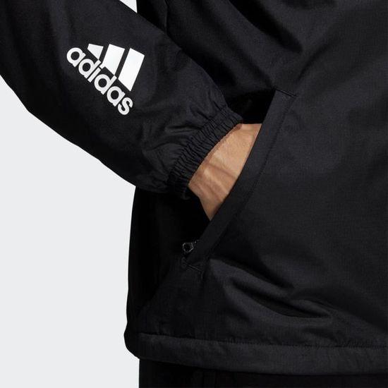 8f610a5dd2481 Adidas Hommes Id Wnd Polaire Lined Veste De Sport Noir Noir - Achat   Vente  blouson manteau de sport - Cdiscount