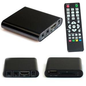 CÂBLE AUDIO VIDÉO Mini 1080P USB MMC HD AV Port TV multi-Media Playe