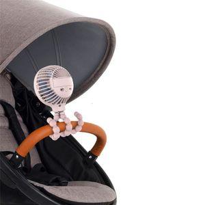 VENTILATEUR MOTEUR ventilateur USB pour Poussette/lit d'étudiant/vélo