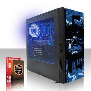UNITÉ CENTRALE  Fierce EXILE PC Gamer de Bureau - AMD FX-6300 6x4.