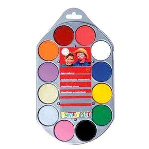 MAQUILLAGE Palette maquillage à l'eau 12 coloris