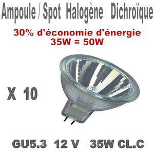 ampoule led spot 50w 12v achat vente pas cher. Black Bedroom Furniture Sets. Home Design Ideas