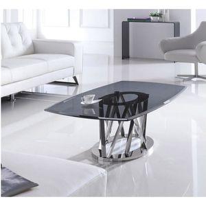 TABLE BASSE Table basse MAELIS en verre