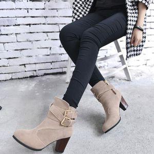 d76e0420dcf BOTTE Chaussures  Bottes femme à talons hauts Martin Bei