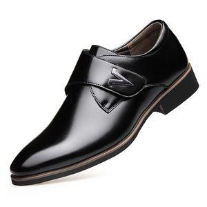 RICHELIEU Richelieu Mode Cuir Chaussures Hommes Noir