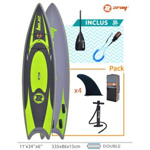 STAND UP PADDLE SUP Zray SNAPPER PRO 11' - Drop stitch double couc