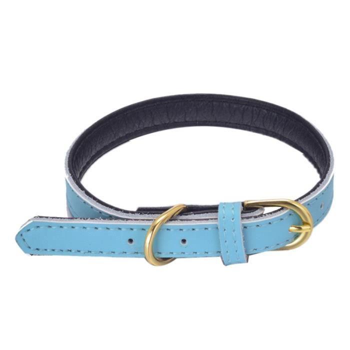 Collier Pour Chien Puppy Choker Chat Bleu - Xs@hxq235