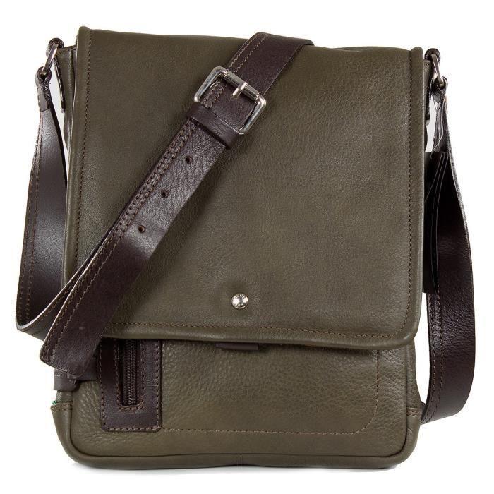 5b62c780c73 CHIARUGI Florence - petit unisexe en cuir sac d'épaule - made in ...