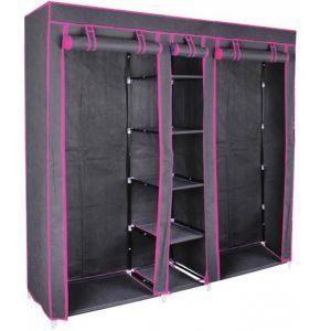 penderie dressing en metal achat vente pas cher. Black Bedroom Furniture Sets. Home Design Ideas