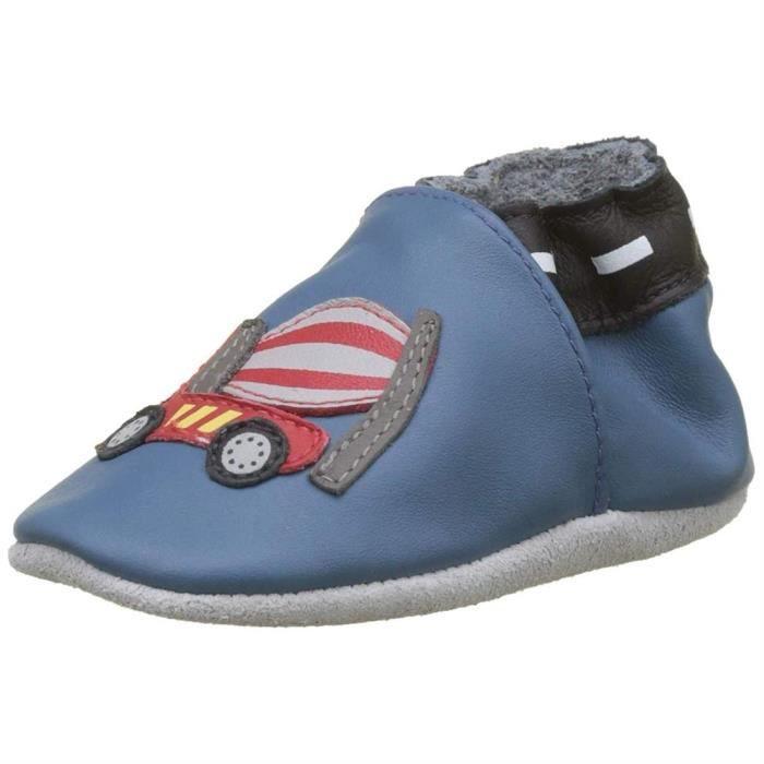 CHAUSSON - PANTOUFLE pantoufles  /  chaussons handy boy filles robeez 6