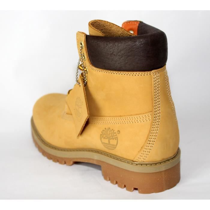 BOTTES FEMME CUIR GOLD TIMBERLAND T 36