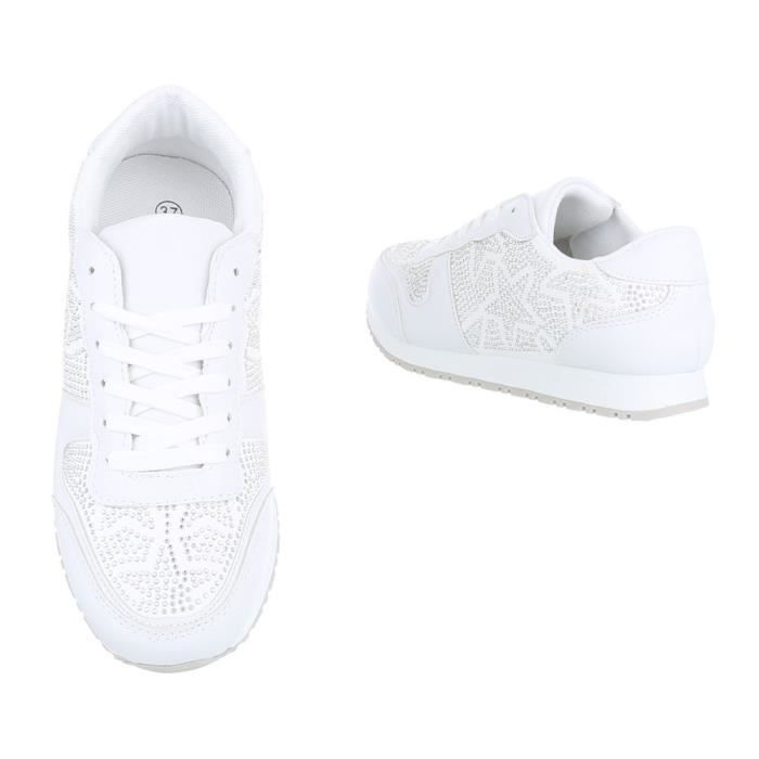 Chaussures femme chaussures sportSneakers Chaussures de sport blanc 41 IwMeS9nK