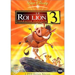 DVD FILM DVD Le roi lion 3 : hakuna matata