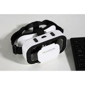 CASQUE RÉALITÉ VIRTUELLE VR Shinecon 5.0 3D SC-G05A Lunettes VR Films Jeux