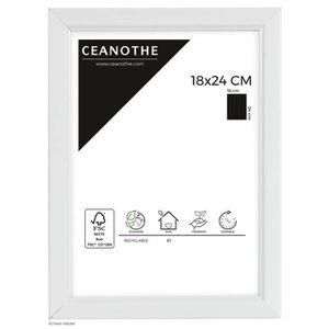 CADRE PHOTO Cadre photo Primo blanc 18x24 cm - Ceanothe, marqu