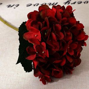 FLEUR ARTIFICIELLE 1pcs Fleurs hortensia artificielle, Fleurs artific