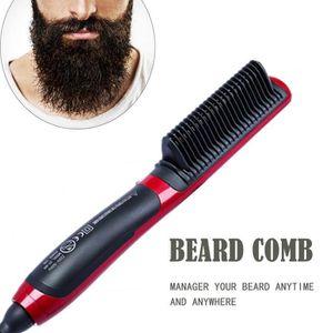 BROSSE SOUFFLANTE CODR peigne brosse à barbe Tourmaline en céramique