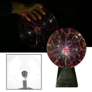 LUMINOTHÉRAPIE lumière cristal magique 8 inch USB Plasma électros