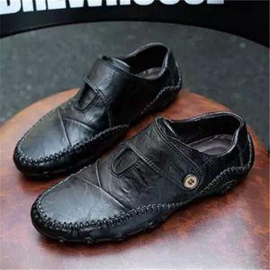 Derbies Homme Meilleure Qualité De Marque De Luxe Cuir Chaussures Nouvelle Mode Super Chaussures Durable 38-47 aQgcd8Sh