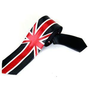 26034cd7a CRAVATE - NŒUD PAPILLON Loisirs Cravate Unisexe Mince Maigre Cravate - Un  ...