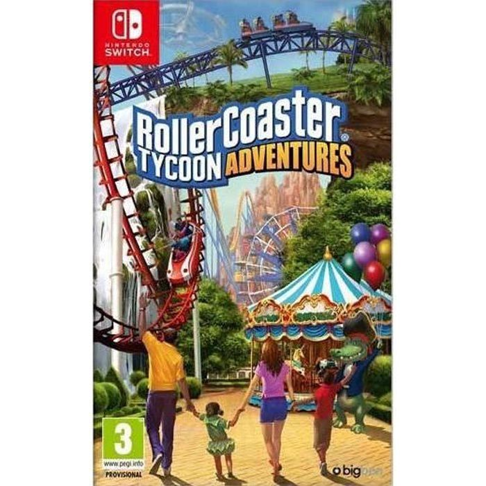 Roller Coaster Tycoon Jeu Switch