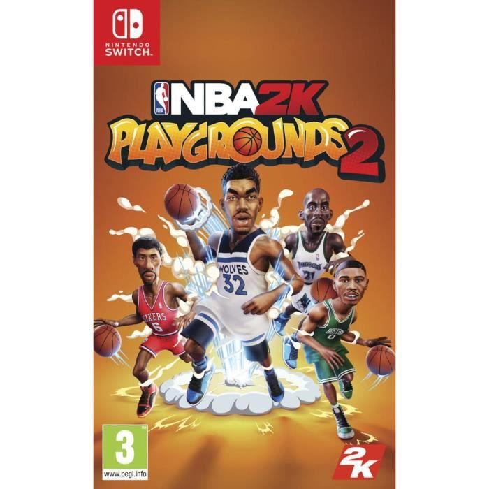 JEU NINTENDO SWITCH NBA2K Playgrounds 2 Jeu Switch
