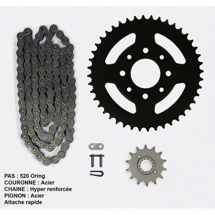 Kit chaîne pour Yamaha Wr-f 450 de 03-06