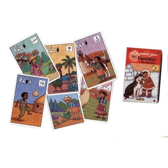 familles du monde jeu de cartes achat vente carte a collectionner black friday le 24 11. Black Bedroom Furniture Sets. Home Design Ideas