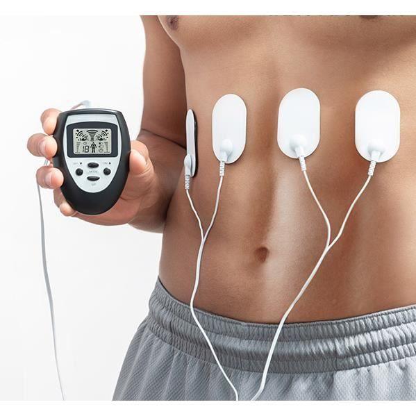 APPAREIL ÉLECTROSTIM Electro stimulateur musculaire pour abdos pectorau