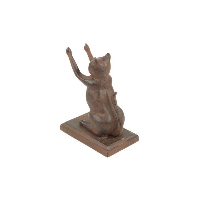 Cale Livres cale livres chat fonte - achat / vente statue - statuette fonte