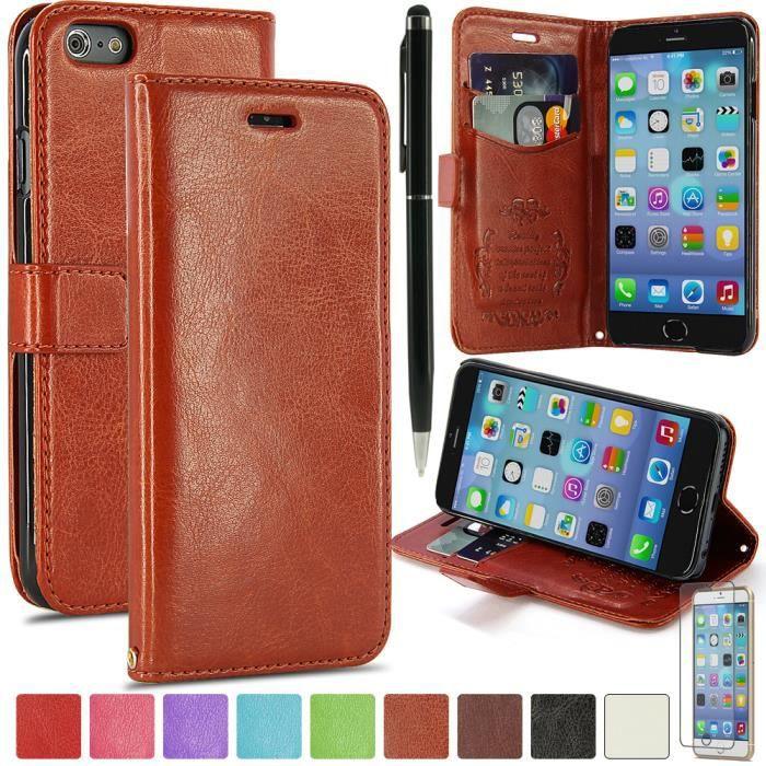 coque iphone 6 plus cuir