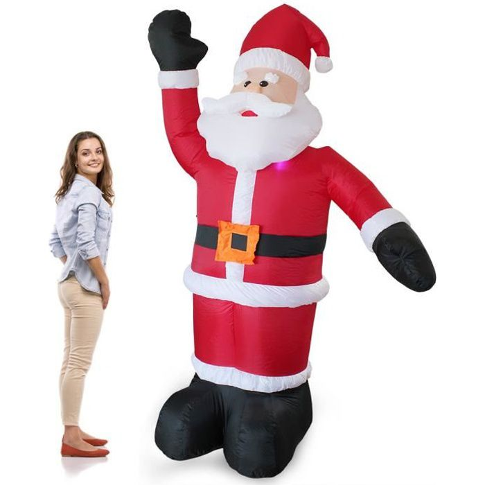 pere noel gonflable - achat / vente pere noel gonflable pas cher