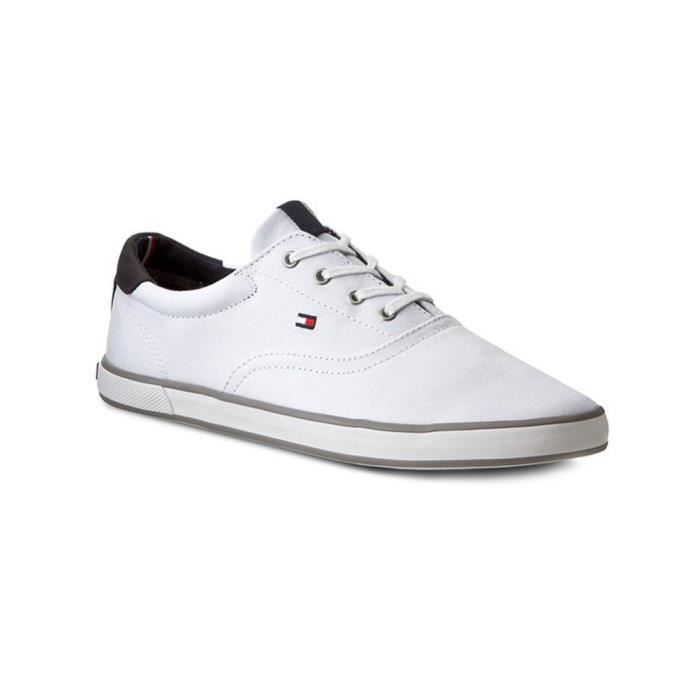 ae06345637318 Chaussures Tommy Hilfiger HARLOW 3D blanc - Couleur - Blanc, Blanc ...