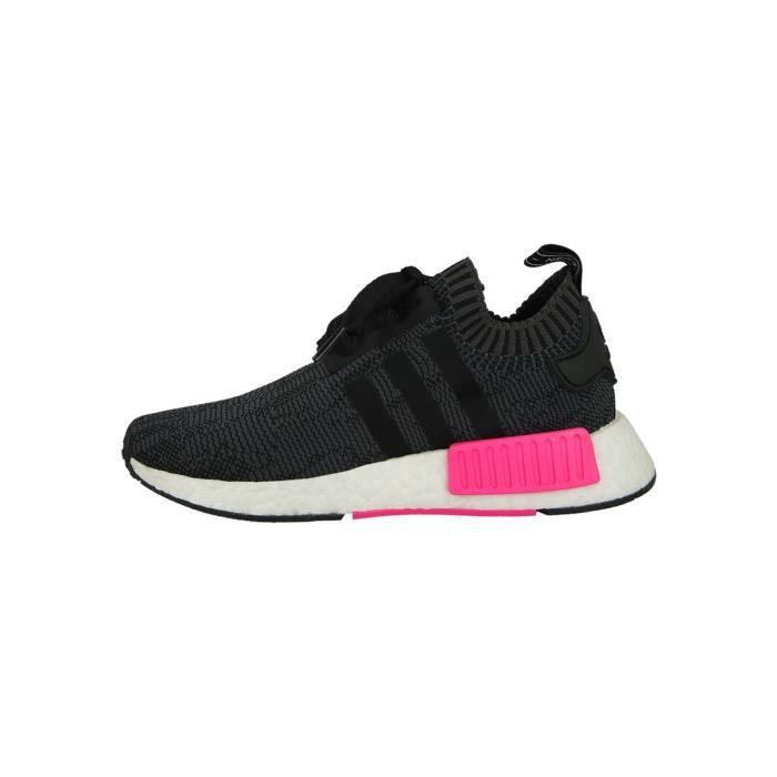 Basket adidas Originals NMD R1 - BB2364 Noir Noir - Achat / Vente basket  - Soldes* dès le 27 juin ! Cdiscount