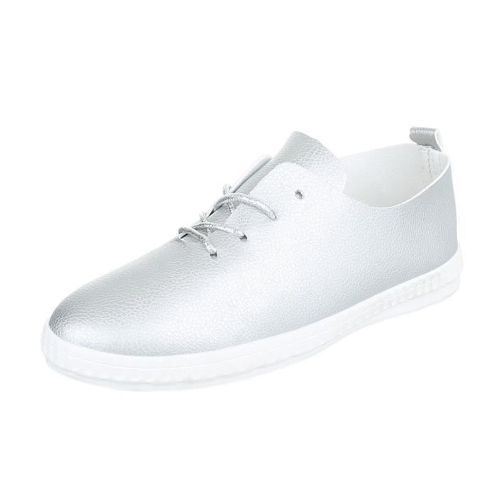 Chaussures Argent Femme 41 Sneakers De Sport Xw0Pk8nO