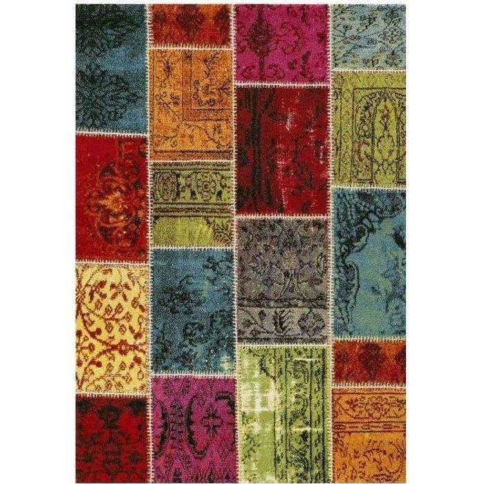 patchwork tapis de salon 120x170 cm - Tapis Patchwork