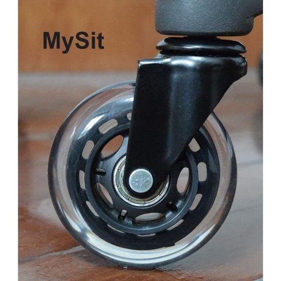 acheter populaire c3e99 6591f Roulettes de rechange pour chaises de bureau IKEA avec pied ...