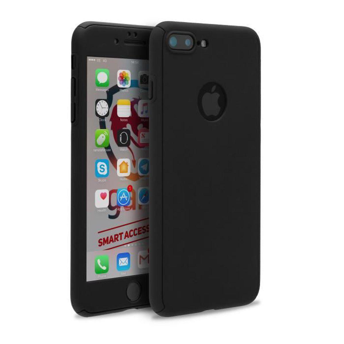 coque iphone 7 plus apple noir