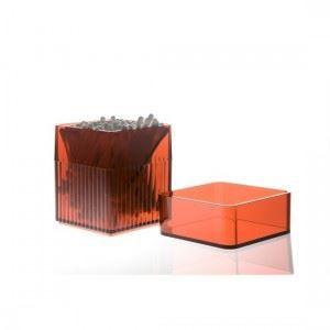 DISTRIBUTEUR DE COTON Boite à coton tige rouge design authentics kali…